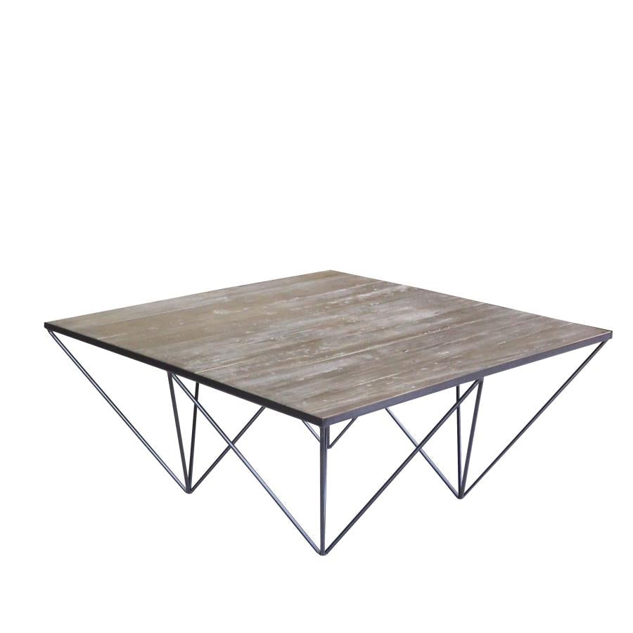 Coaster 721688 White Washed Natural Coffee Table