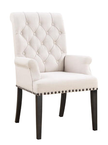 Coaster 107283 Phelps Beige Fabric Chair Set of 2