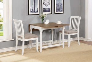 Hesperia White Dining Table Set