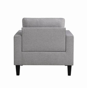 Coaster 508688LGR Metro Transitional Light Grey Chair