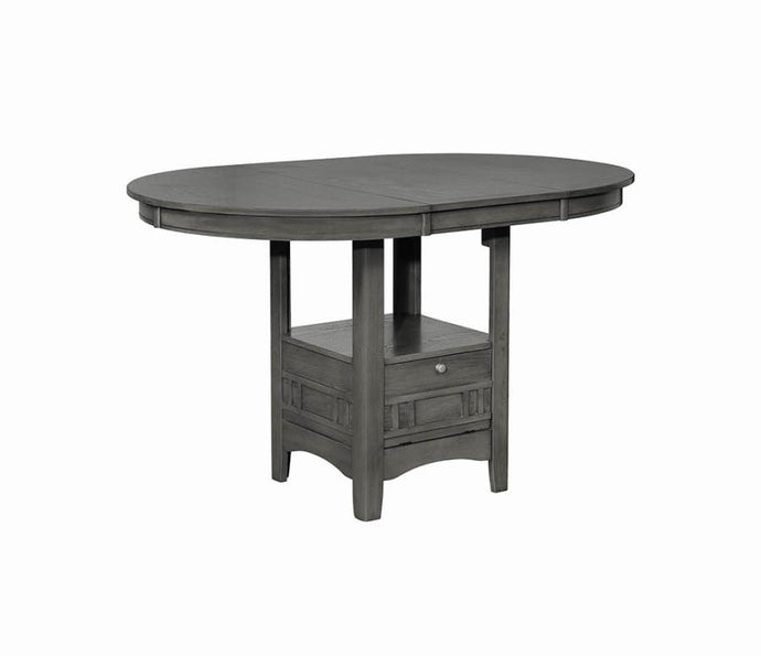 Coaster Lavon Transitional Charcoal Counter Height Table