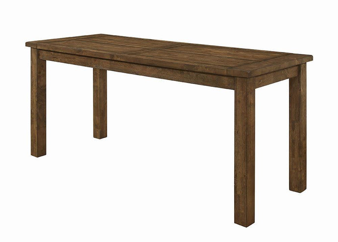 Coleman Rustic Rectangular Counter Height Table
