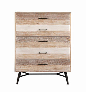 Coaster Marlow Rustic Style Rough Sawn Multi Finish Chest