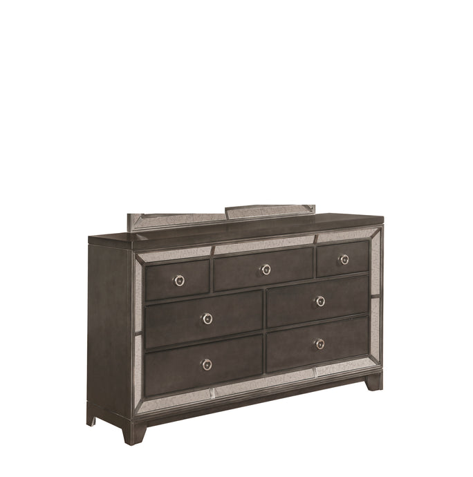 Coaster Morro Bay Gray Wood Finish Dresser