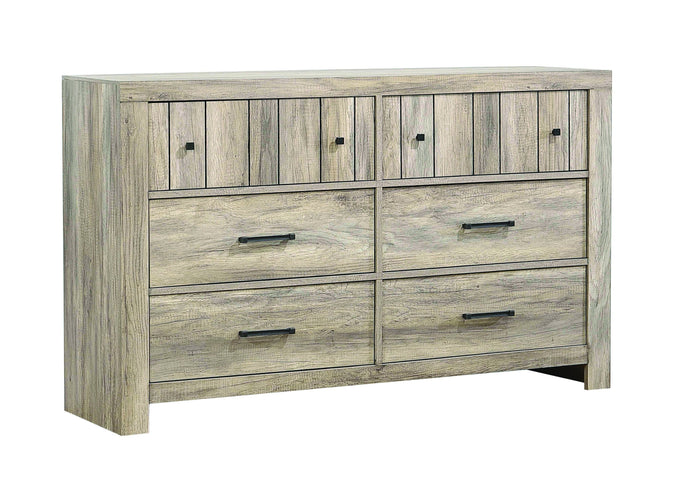 Homy Living Adelaide Oak Wood Finish Dresser