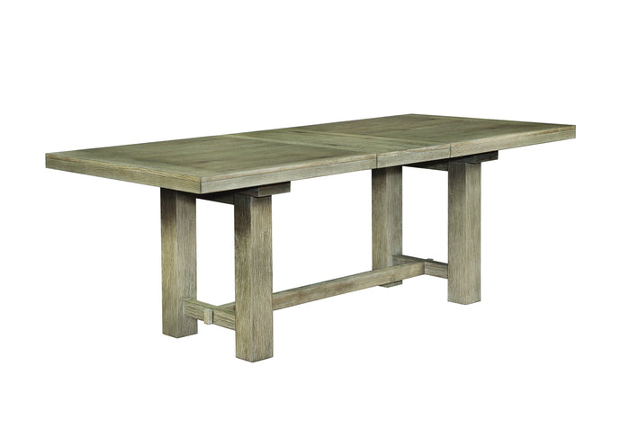 Homy Living Gadsden Natural Wood Finish Dining Table