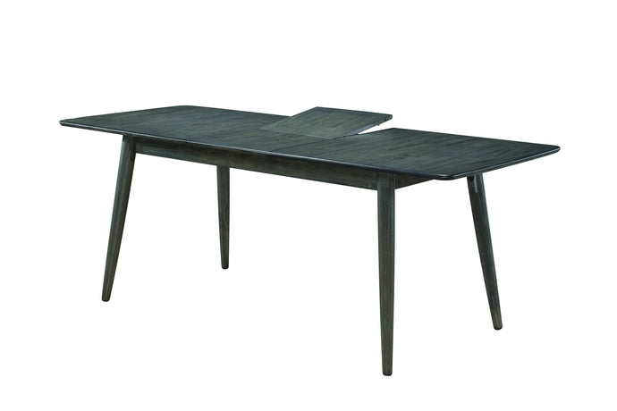 Homy Living Eureka Gray Wood Finish Dining Table