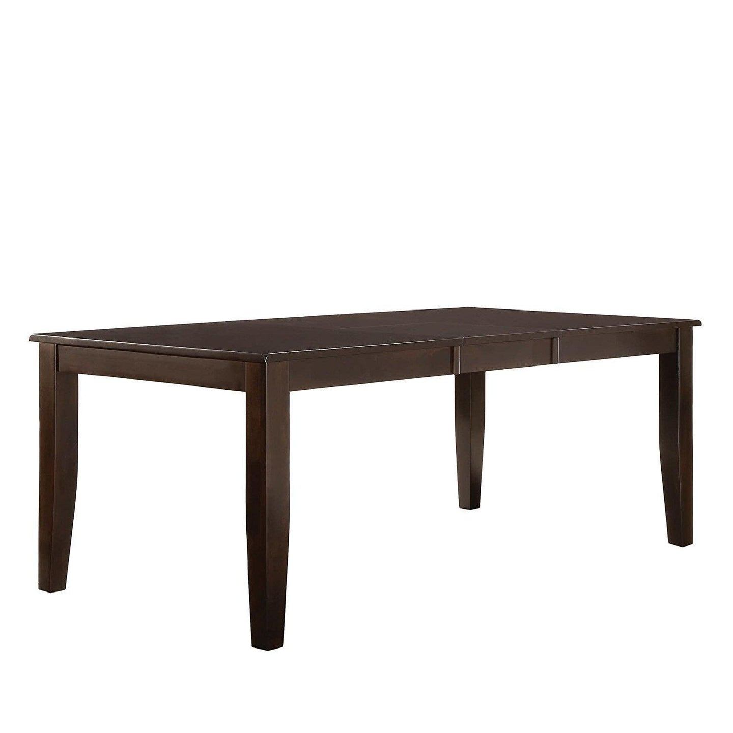 Homelegance 1372-78 Crown Point Casual Merlot Wood Dining Table
