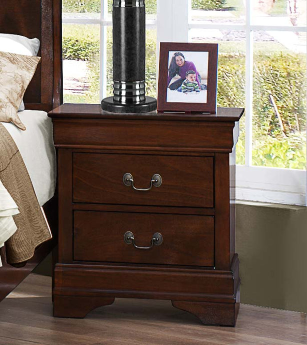 Homelegance Mayville Brown Cherry Night Stand