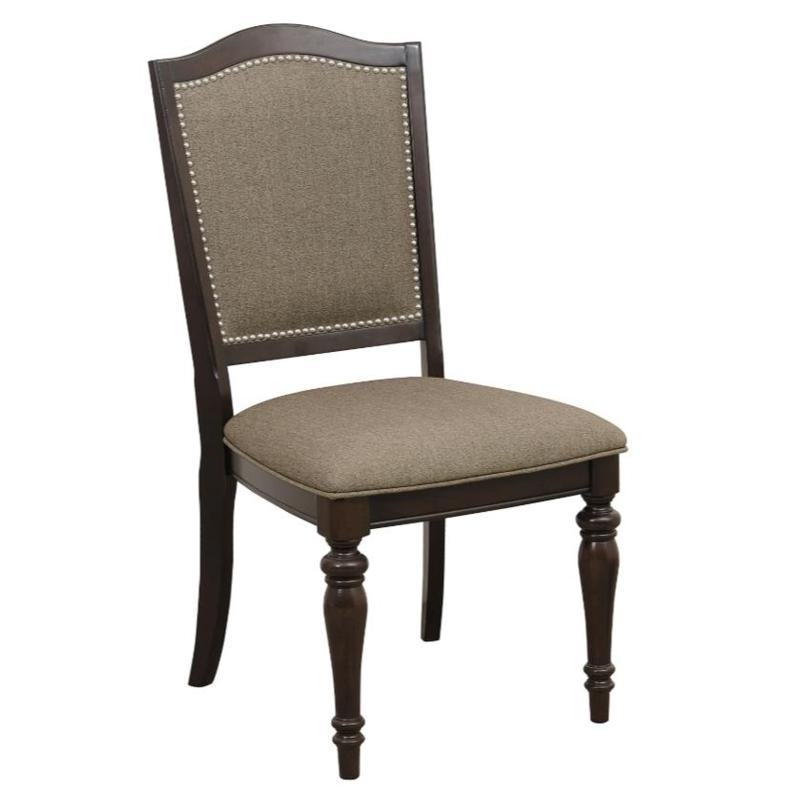 Homelegance Marston Cherry Wood Finish 2 Piece Dining Chair