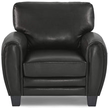 Load image into Gallery viewer, Homelegance Rubin Black Bonded Leather Finish Chair