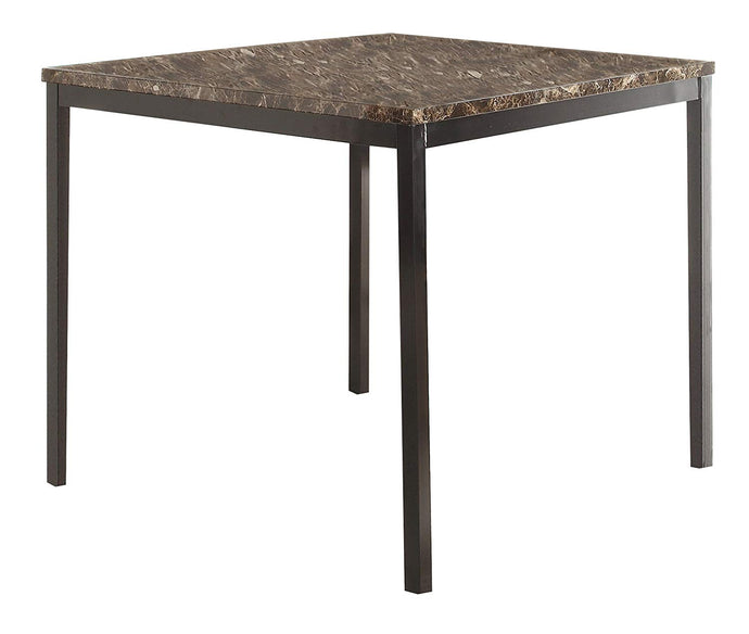 Homelegance 2601-36 Tempe Black Metal Counter Height Table