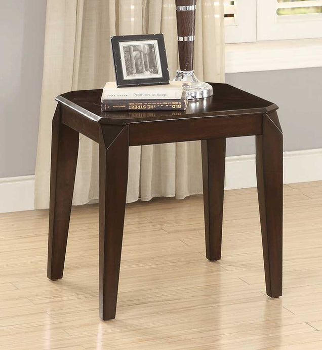 Homelegance Sikeston Warm Cherry Lift Top Side End Table