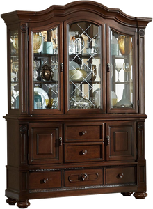 Homelegance Lordsburg Cherry Wood Finish China Cabinet