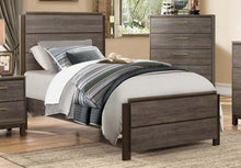 Load image into Gallery viewer, Homelegance Vestavia Dark Gray Wood Finish Full Bed