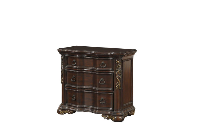 Homelegance Royal Highlands 1603-4 Brown Bi Cast Vinyl Night Stand