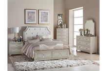 Load image into Gallery viewer, Homelegance Libretto Light Gray Wood Finish 4 Piece California King Bedroom Set
