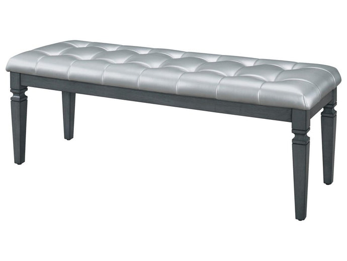 Homelegance 1916GY-FBH Allura Gray Bench