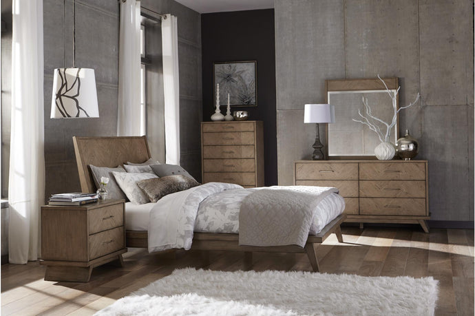 Homelegance Liatris Brown Wood Finish Dresser With Mirror