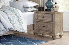 Load image into Gallery viewer, Homelegance Barbour Whitewash Natural Wood Finish Nightstand