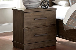 Homelegance Bracco Brown Wood Finish Nightstand
