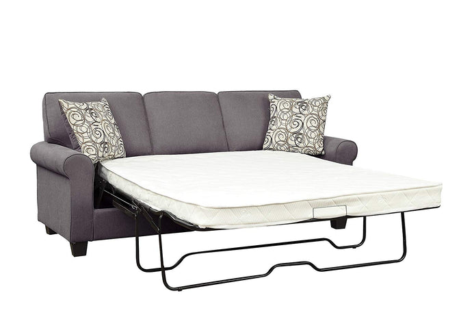 Homelegance 9938GY-3SL Selkirk Grey Fabric Finish Sofa Bed