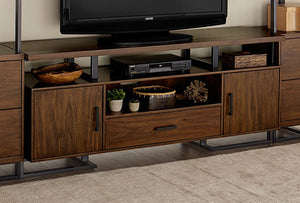 "Homelegance 54150RF-68T Sedly Walnut Wood Finish 68"" TV Stand"