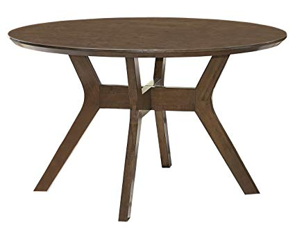 Homelegance 5492-52 Edam Neutral Finish Round Dining Table