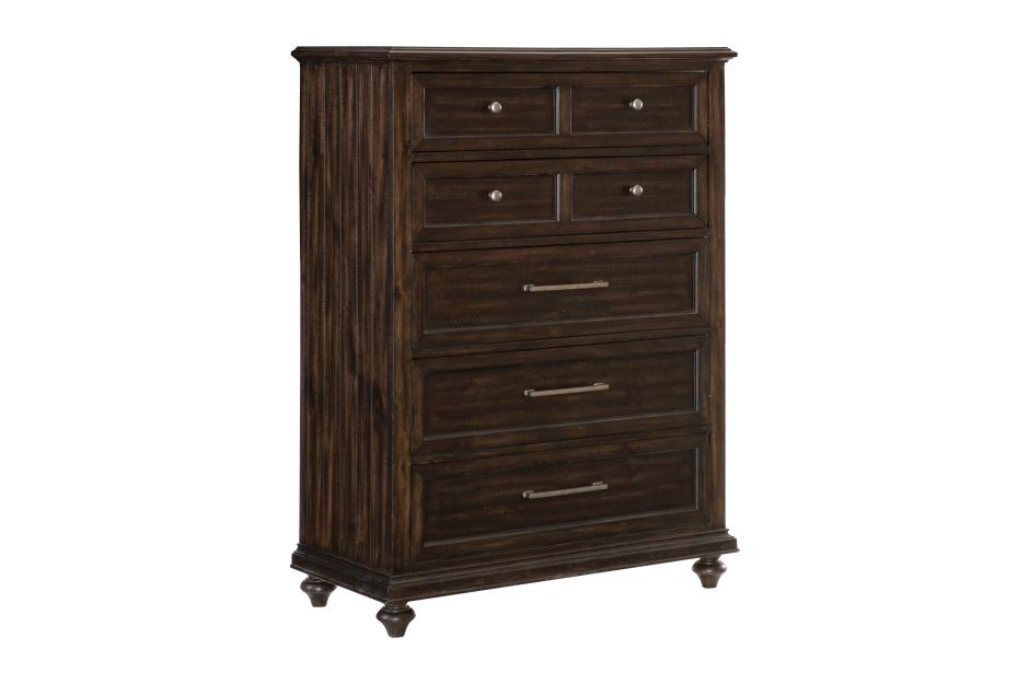 Homelegance Cardano Brown Wood Finish Chest