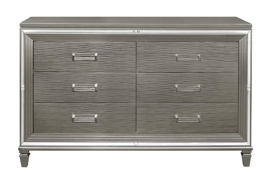 Homelegance Tamsin Silver Wood Finish Dresser