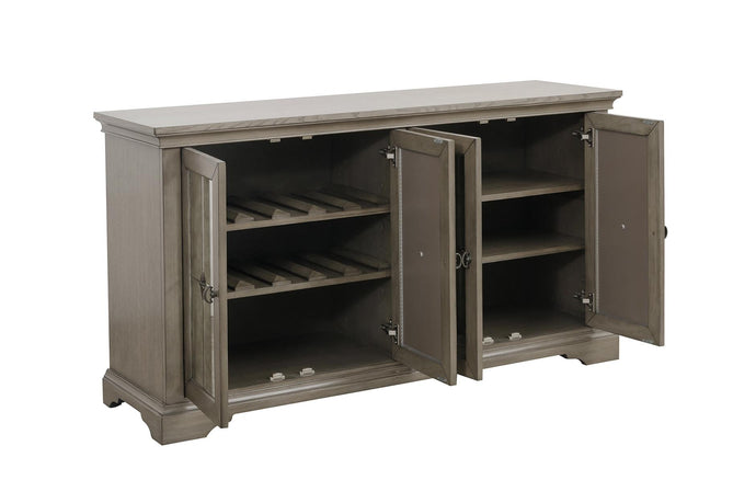 Homelegance Vermillion Gray Wood Finish Dining Server