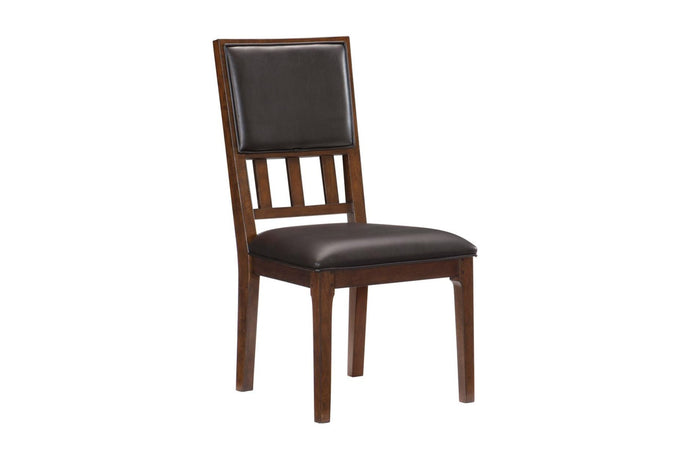Homelegance Frazier Park Cherry Wood Finish 2 Piece Dining Chair