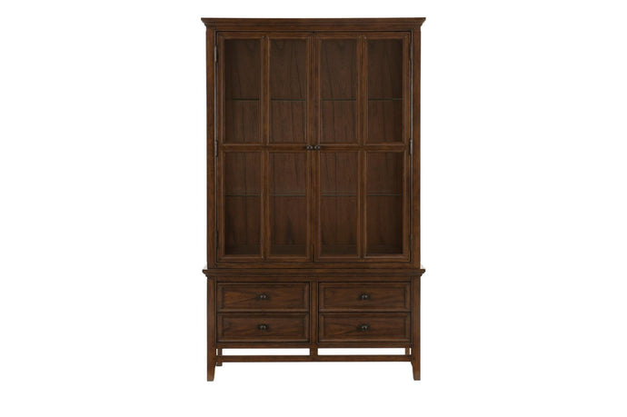 Homelegance Frazier Park Cherry Wood Finish China Cabinet