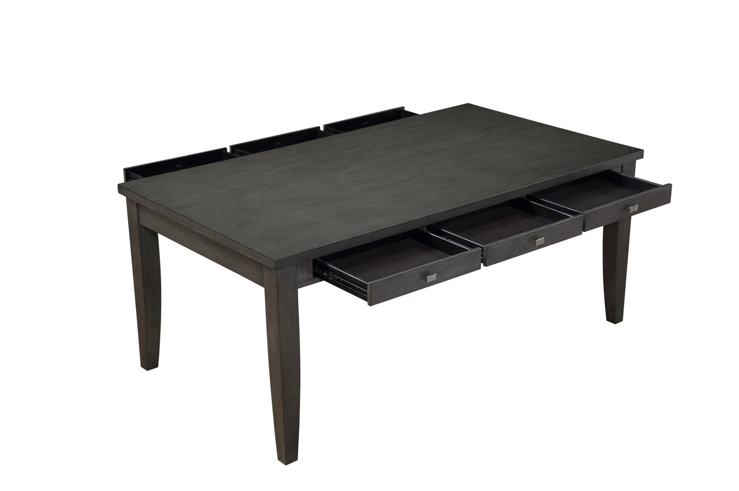 Homelegance Baresford Gray Wood Finish Dining Table