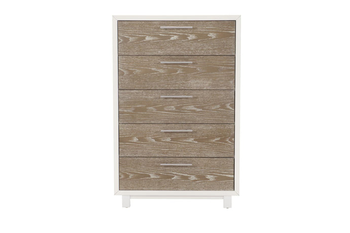 Homelegance Renly White And Oak Wood Finish Chest