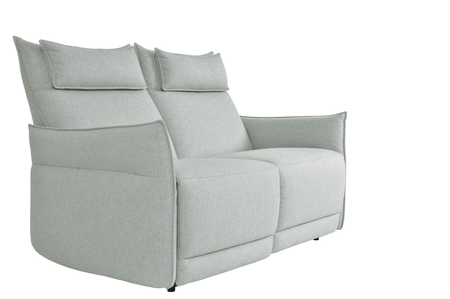 Homelegance Linette Ocean Polyester Finish Power Reclining Loveseat