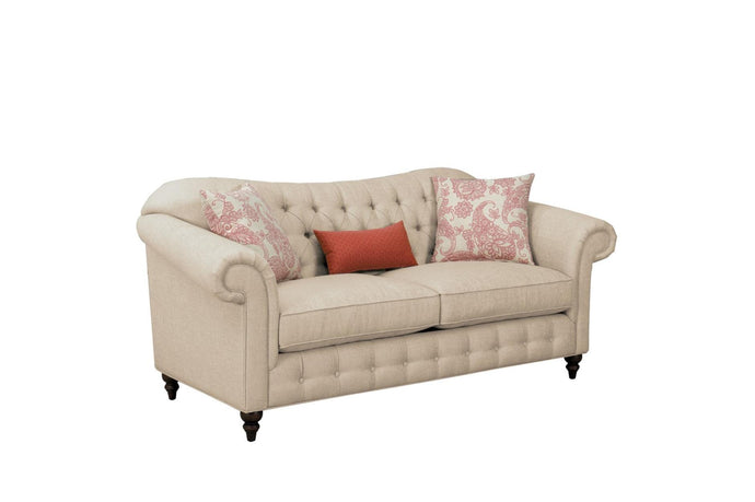 Homelegance Selles Beige Polyester Finish Sofa