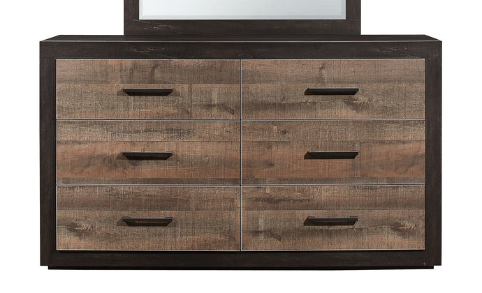 Homelegance Miter Natural Wood Finish Dresser