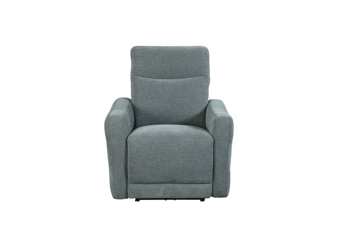 Homelegance Edition Dove Polyester Finish Recliner Chair