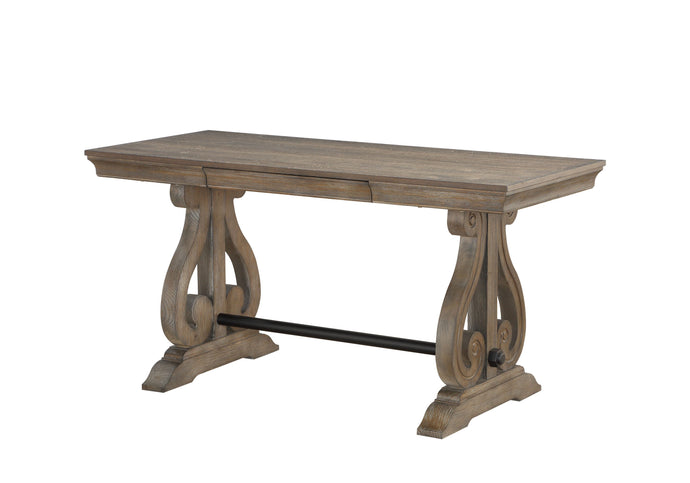 Homelegance Toulon Brown Wood Finish Writing Desk