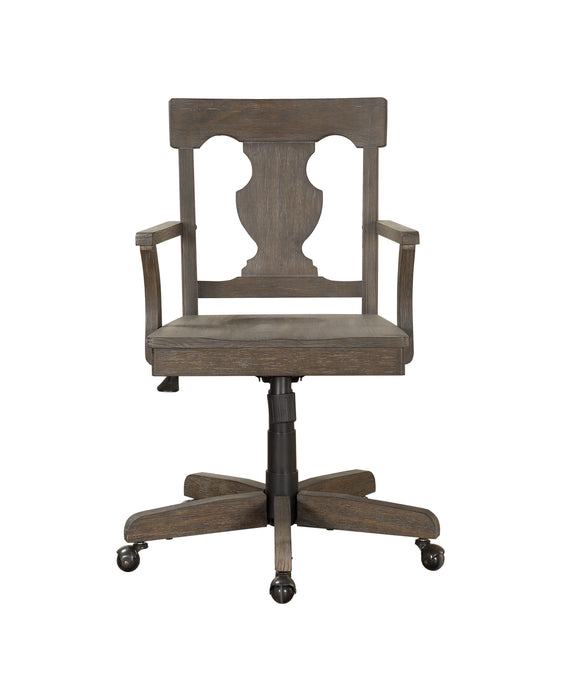 Homelegance Toulon Brown Wood Finish Office Chair