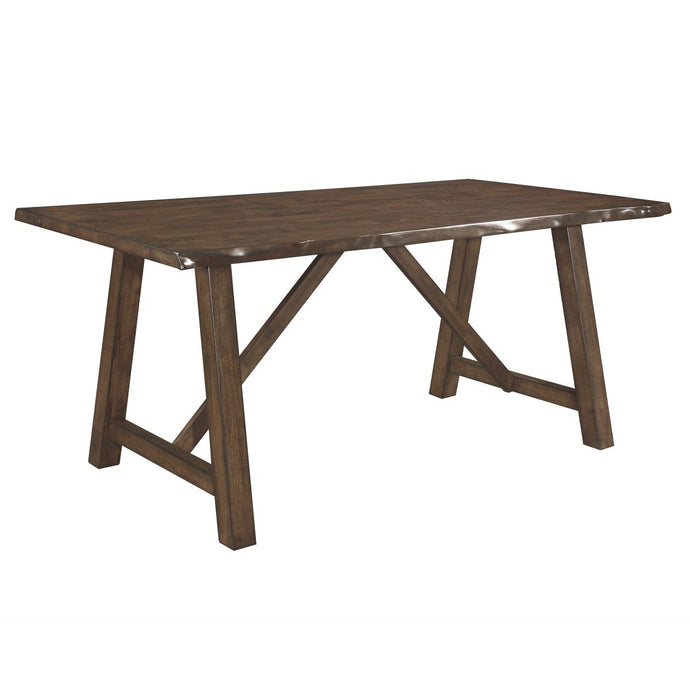 Homelegance Whittaker Brown Wood Finish Dining Table