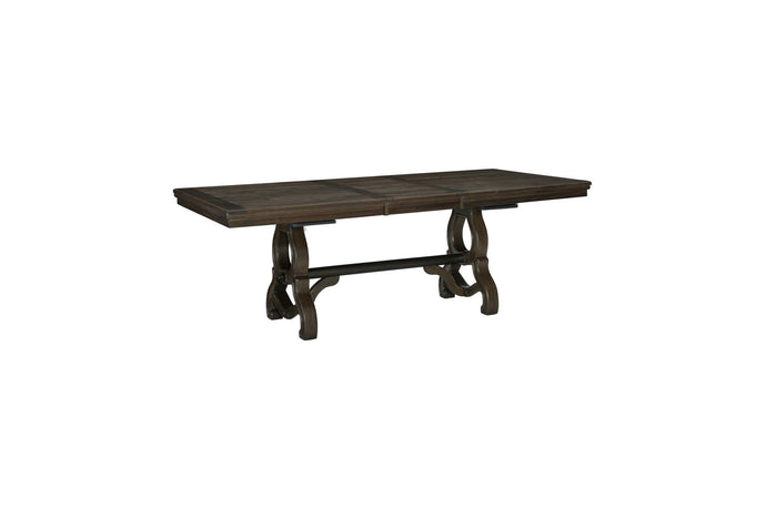 Homelegance Gloversville Natural Wood Finish Dining Table