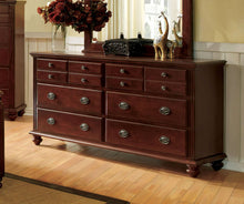 Load image into Gallery viewer, Furniture of America CM7083D Gabrielle II Cherry Wood Finish Dresser