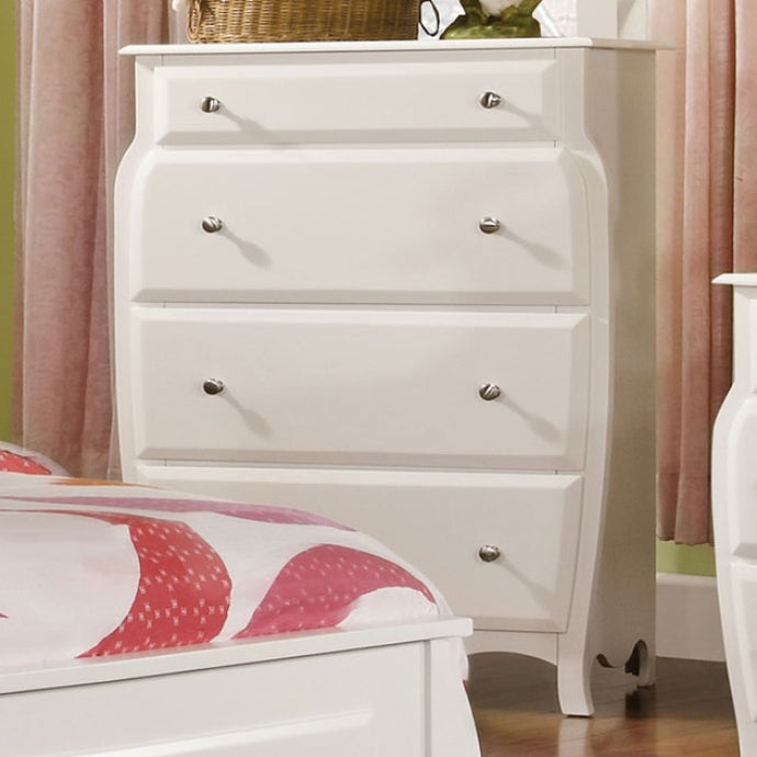 Furniture of America CM7940C Roxana Transitional White Kids Chest