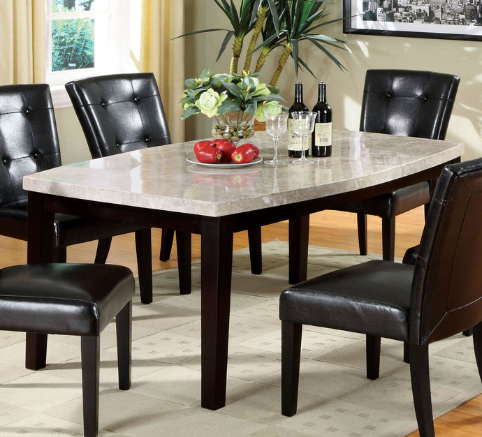 Furniture Of America Marion I 64 Inch Espresso Oval Edge Dining Table