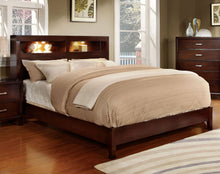 Load image into Gallery viewer, Gerico I CM7290CH-CK Contemporary Brown Cherry King Platform Bed