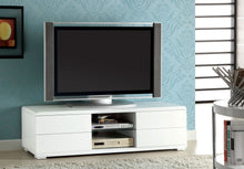 Load image into Gallery viewer, Furniture of America CM5530WH-TV Cerro Modern White Finish TV Console