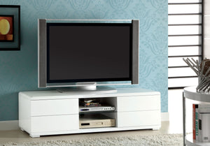 Furniture of America CM5530WH-TV Cerro Modern White Finish TV Console