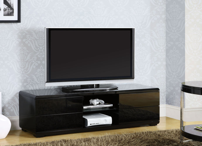 Furniture of America CM5530BK-TV Cerro Modern Black Finish TV Console